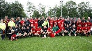 Kicken mit Herz Fussballspieler 2011