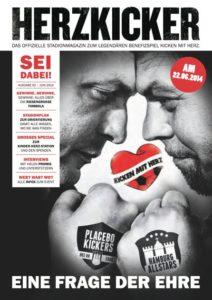 Kicken mit Herz Stadionzeitung 2014
